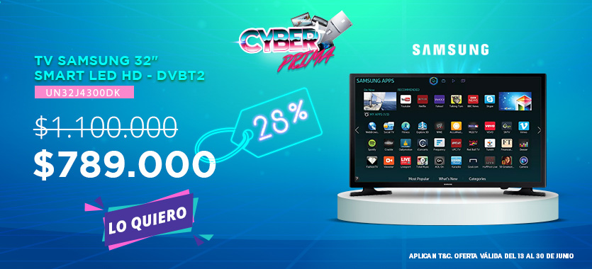 cyberprima tv 32