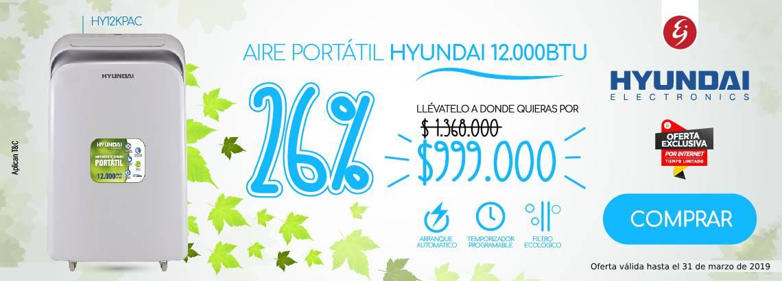 Aire Portátil Hyundai
