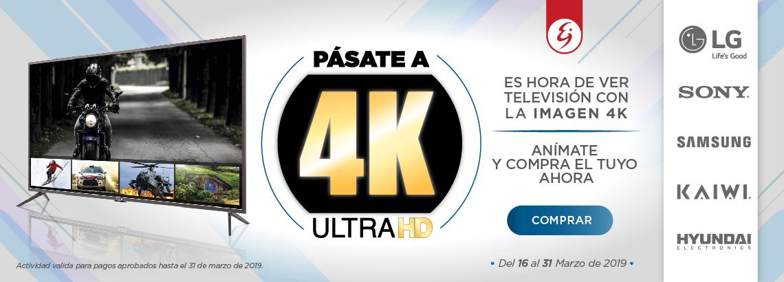 televisores 4k